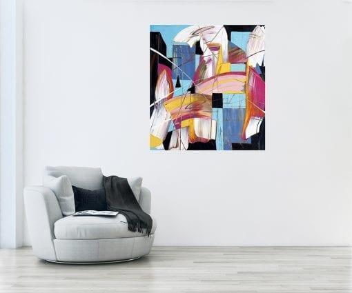Abstract Magenta Insitu