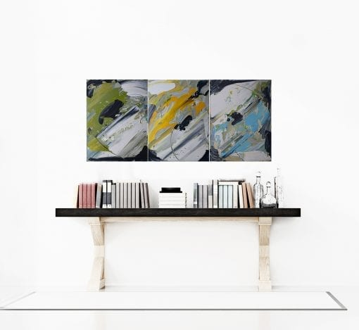 In Situ, Abstract Triptych