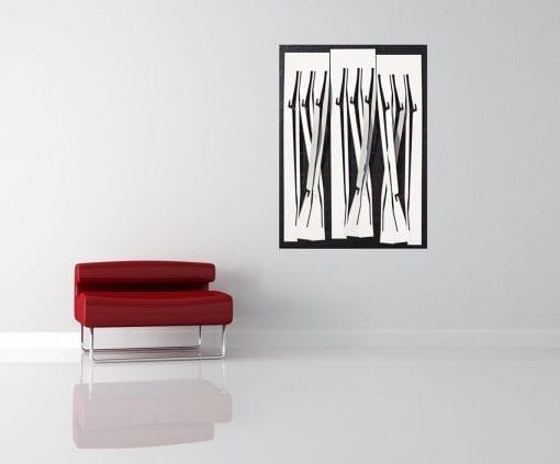In Situ, Twisted Weaving