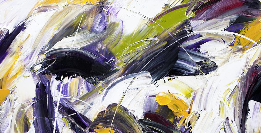 Abstract Art - Wild Iris
