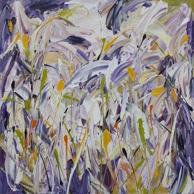 Lavender Yellow Garden