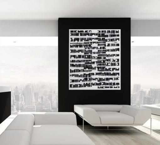 In Situ Black White in Form