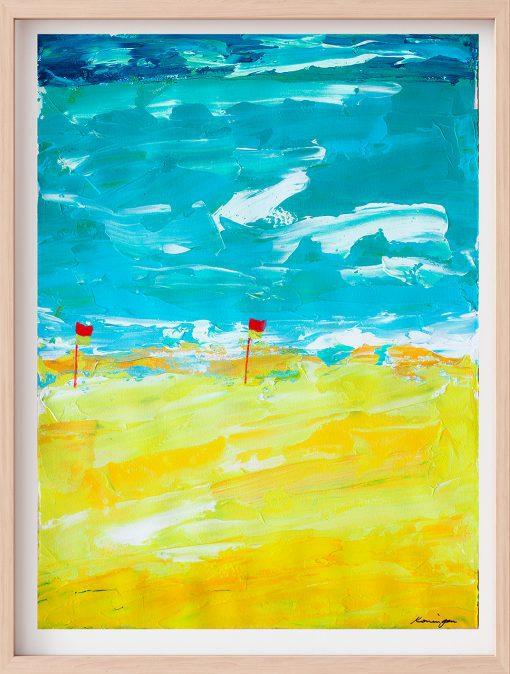 flags-on-the-beach-framed.