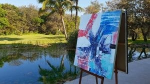 painting-by-the-Pond