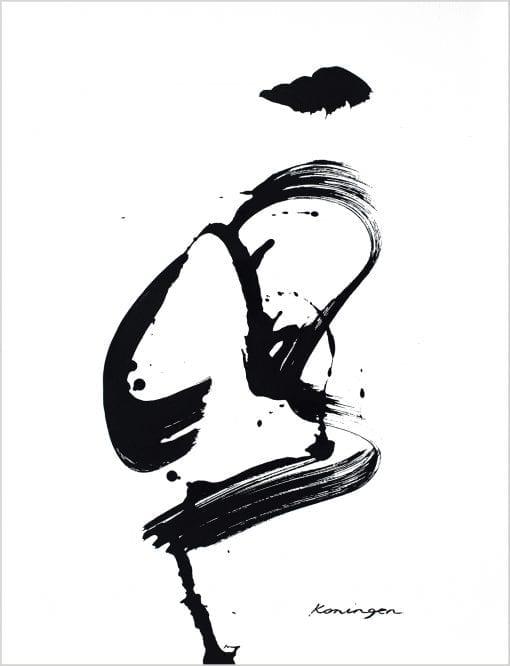 black-white-no1-ink-on-paper
