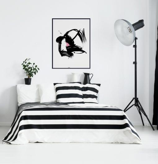 black-white-no2-ink-on-paper