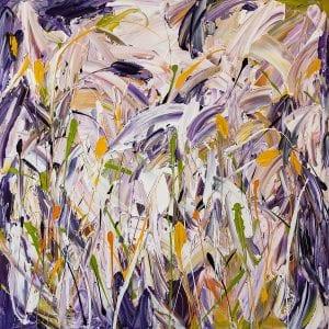 Lavender Abstract Garden