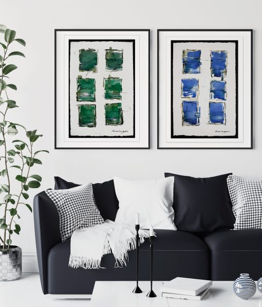 paper-colour-blues-greens-paintings