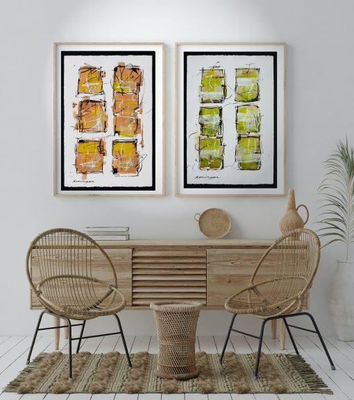 paper-colour-terracotta-with-wheat-green-insitu