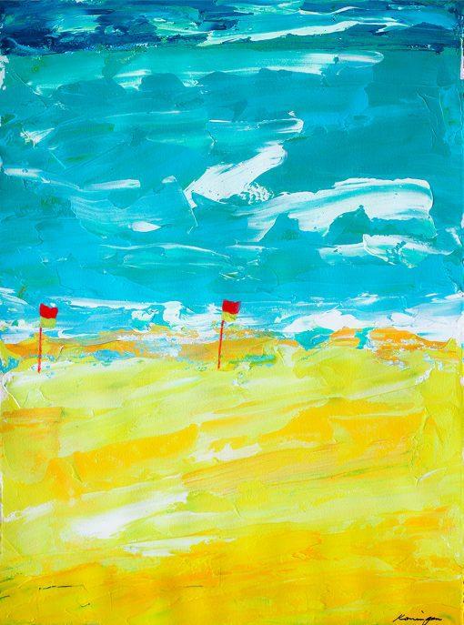 flags-on-the-beach