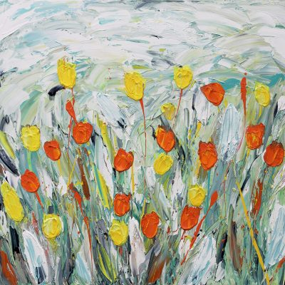 happiness-and-hope-tulips-yellow-and-orange-print