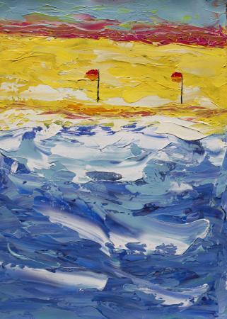 flags_on_beach